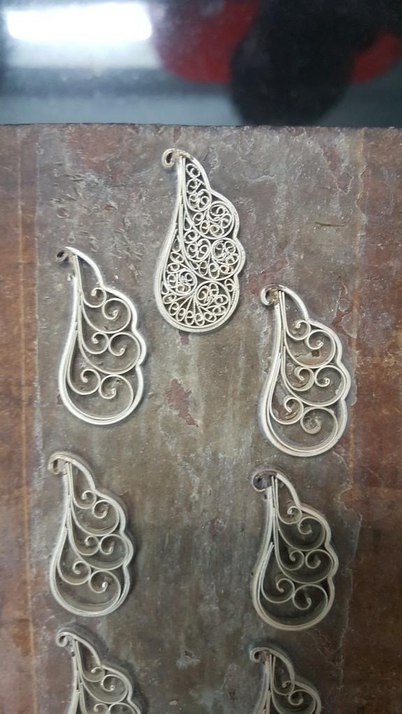silver filigree craft exploration jewellery design department jd